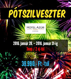 Hotel Azúr Szilveszter